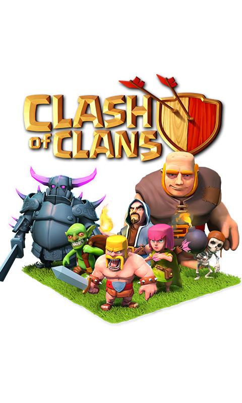 Clash of Clans Smartphone Wallpaper