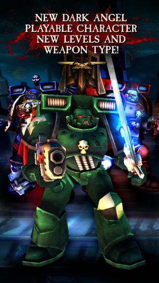 Warhammer 40,000: Carnage Dark Angel update adds new playable character, Ork-filled missions, and nasty weapons