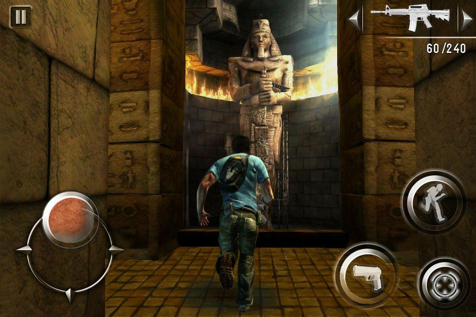 "ShadowGuardian_Screen5 Mais detalhes de ""Asphalt 6: Adrenaline"" e ""Shadow Guardain"" (iPhone)"
