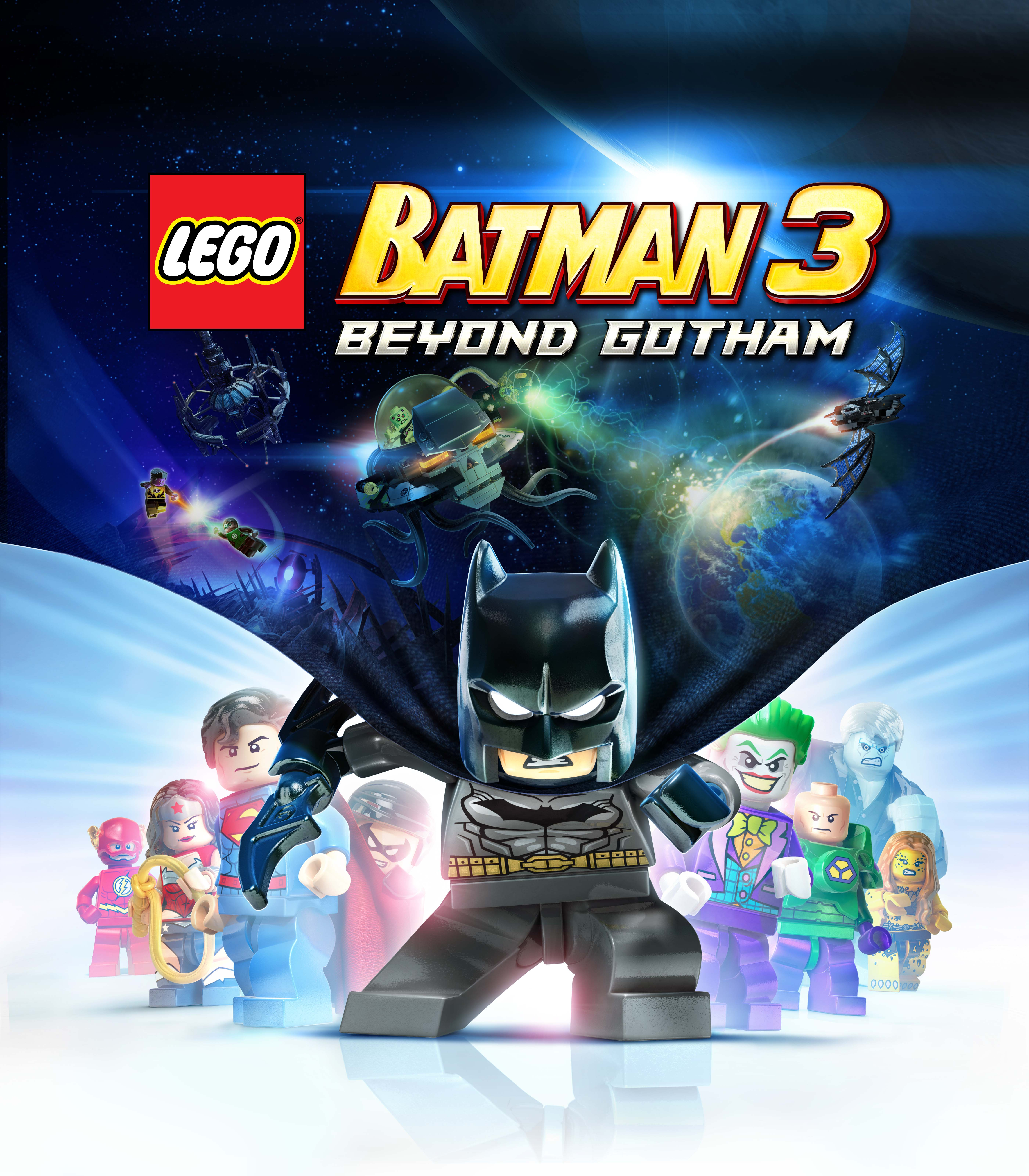 Lego Batman 3: Beyond Gotham is set to soar into space on November 14th