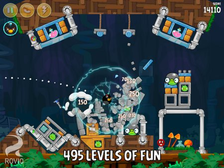 Angry Birds for iOS and Android updated with 30 new levels in the Short Fuse episode