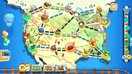 Here are 3 mobile board games to play after Ticket to Ride: First Journey