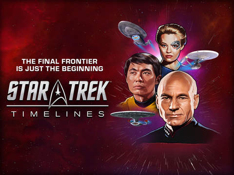 Put Kirk, Picard, and Janeway on your crew in monster mash-up Star Trek Timelines