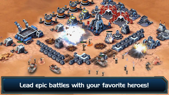LucasArts soft-launches Clash of Clans clone Star Wars: Commander on iOS in Australia