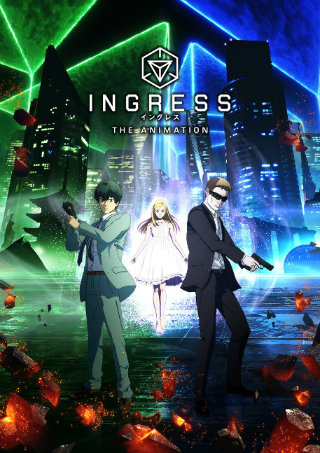 You'll be able to watch an Ingress anime on Netflix sooner than you think