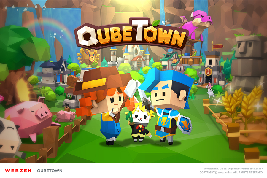 Casual town management sim QubeTown has just gone global