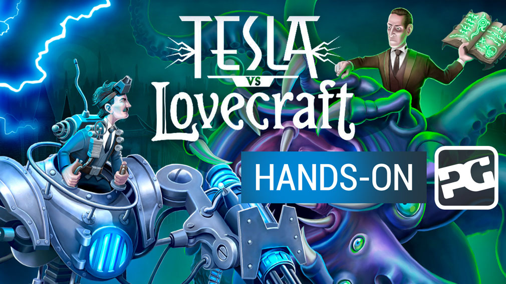 "Tesla vs Lovecraft video hands-on - ""Can a man in a mech mirk Cthulhu?"""