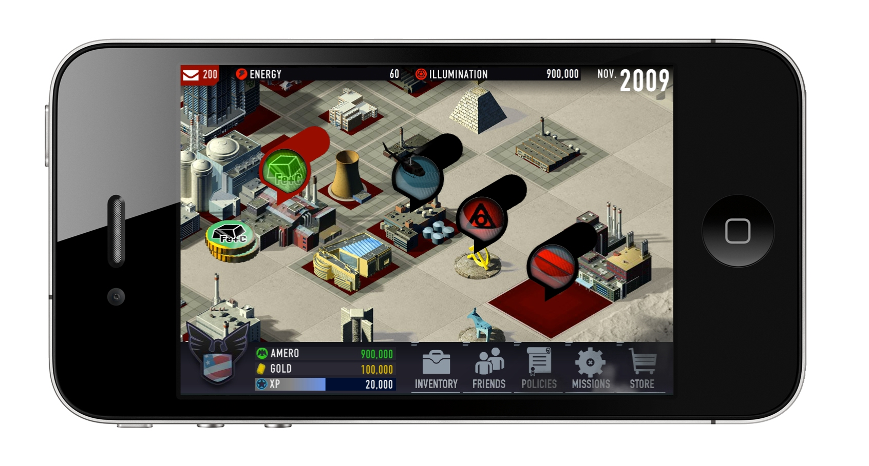 Hands-on with political simulation Shadow Government for iOS
