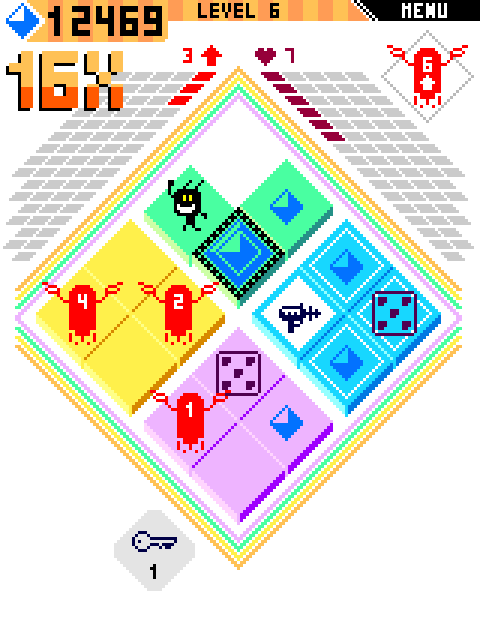 Spoiks is an abstract micro-roguelike in development for Android