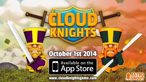Cloud Knights is like the QWOP of sword fighting, now on iOS