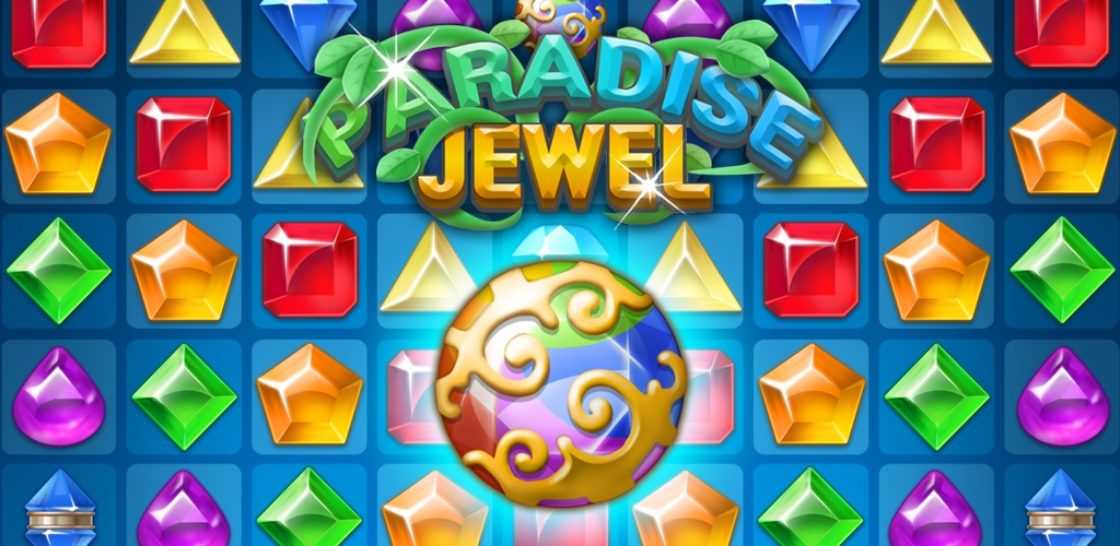 The sparkling match-3 puzzler Paradise Jewel has arrived on Android