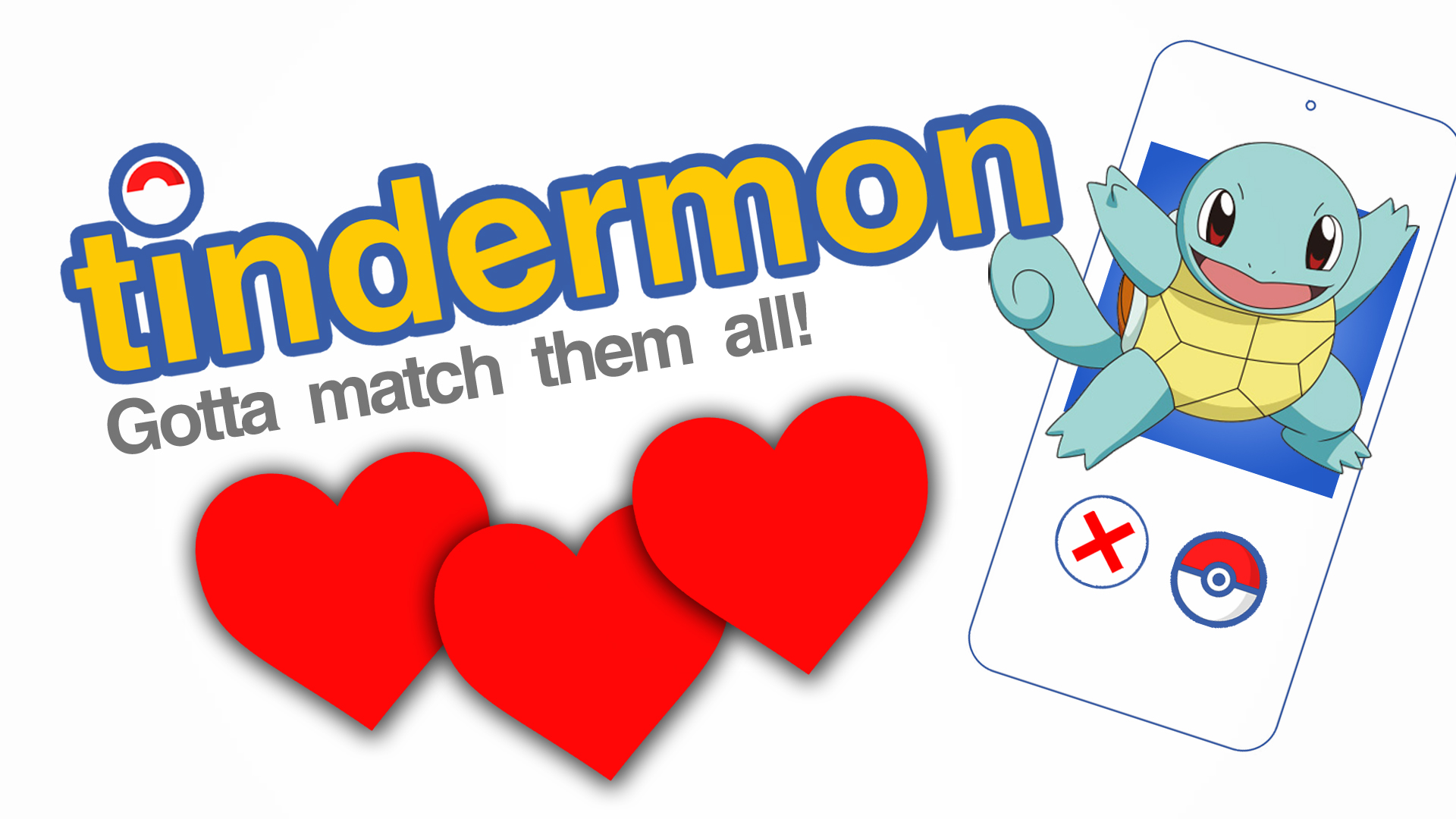 Tindermon is for Pokemon Go players looking for love... with Pokemon