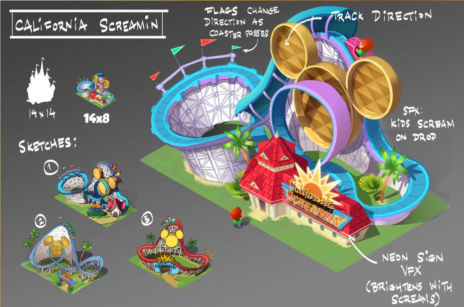 Gameloft is making a Disney park sim called Magic Kingdoms