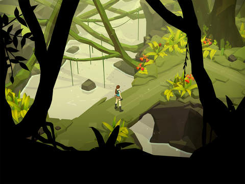 Lara Croft GO - One of the best puzzle games this year