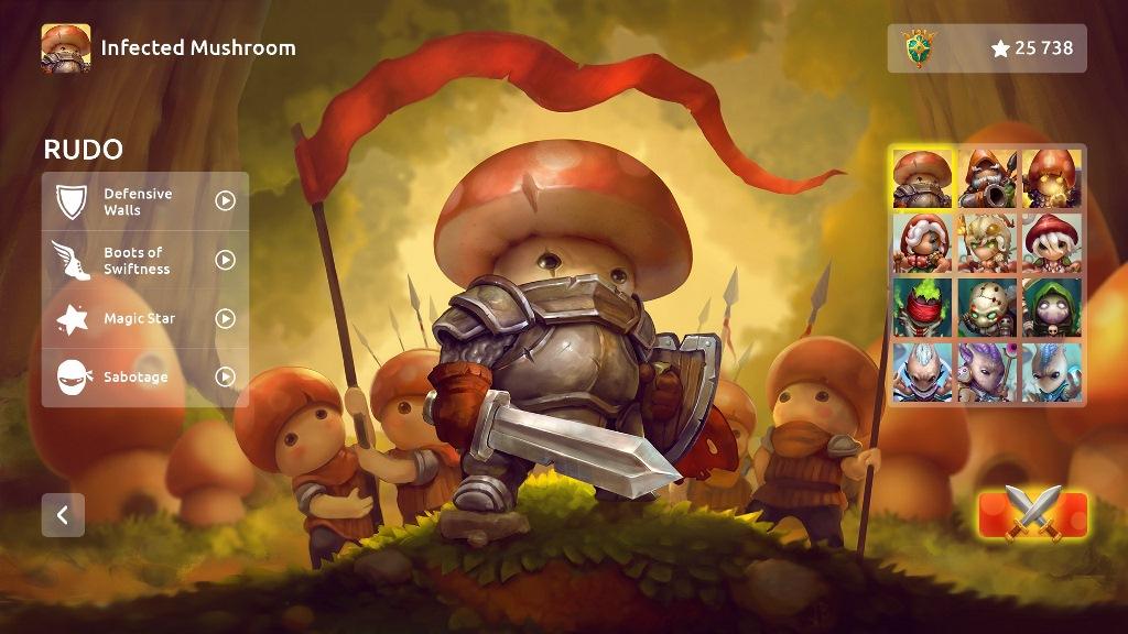 The Bronze Award-winning RTS Mushroom Wars 2 is headed to Switch