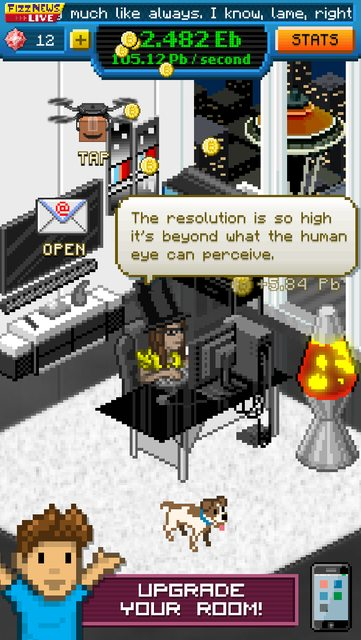 Bitcoin Billionaire is a Cookie Clicker-like coming to mobile soon, published by Noodlecake