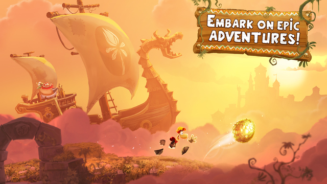 Rayman Adventures is awarded a place amongst the App Store's 'Best of 2015'