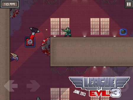 Out at midnight: Jump, flip, and punch scientists to death in League of Evil 3 for iOS