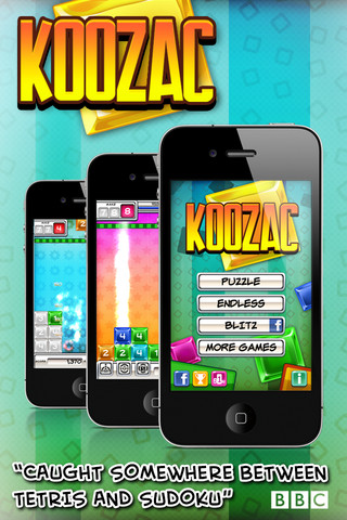 Square Enix's puzzle game KooZac drops into place on the App Store