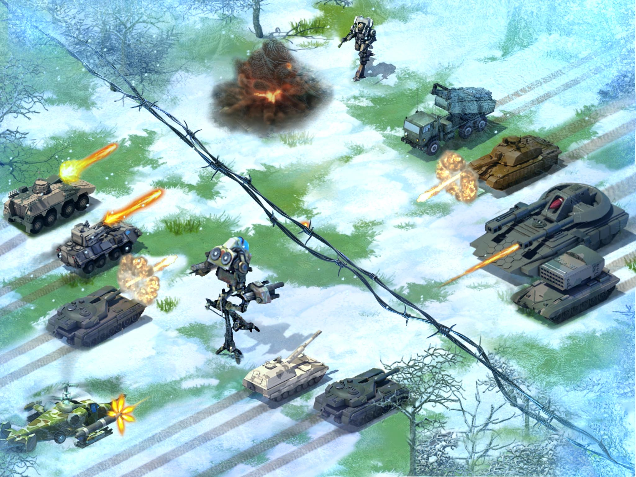 Gameloft guns for Clash of Clans, releasing military base-builder World at Arms