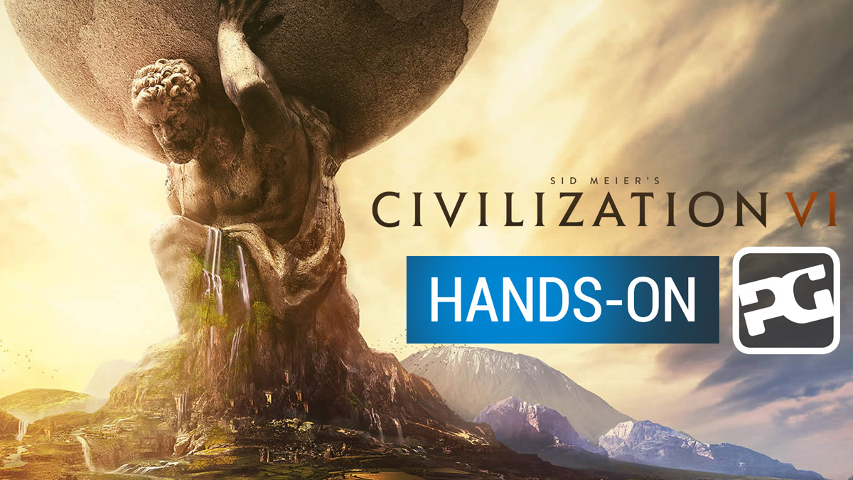 "Civilization 6 hands-on ""Sid Meier puts the entirety of human history in your hand"""