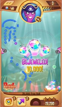 Peggle Blast is a free to play version of the zany peg-popper that's out right now on iOS and Android