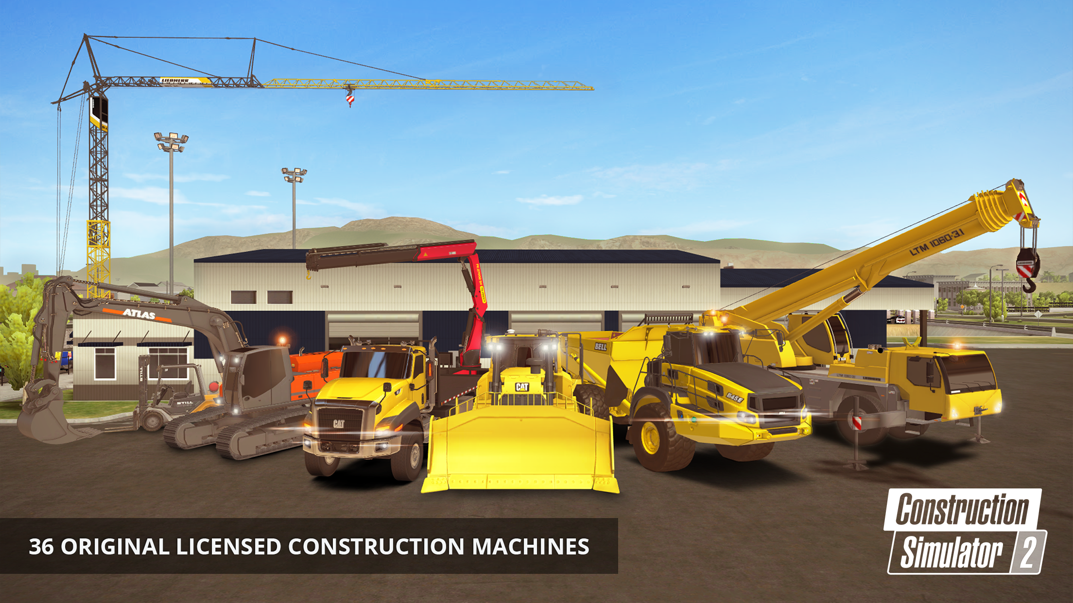 Construction Simulator 2 trucks its way onto iOS and Android
