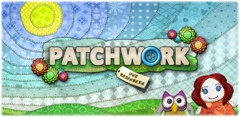 Stitch your way to victory in boardgame Uwe Rosenberg's Patchwork, out now