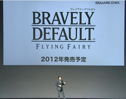 New Square Enix RPG franchise Bravely Default for 3DS revealed at Nintendo's pre-show conference