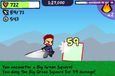 iPhone RPG parody Fastar! out now, 50 per cent off this weekend