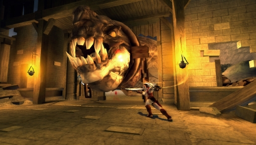 God of War: Chains of Olympus to use full PSP power