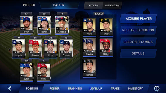 Gamevil's officially licensed MLB Perfect Inning is all warmed up, now out for Android and iOS
