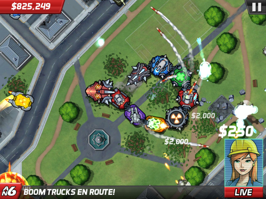[Update] Out now: Go wild in Colossatron: Massive World Threat on iOS by smashing up the cities of the world