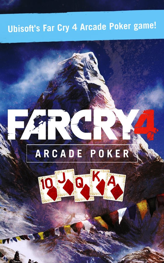 Far Cry 4 Arcade Poker companion app mixes the classic card game with puzzle elements