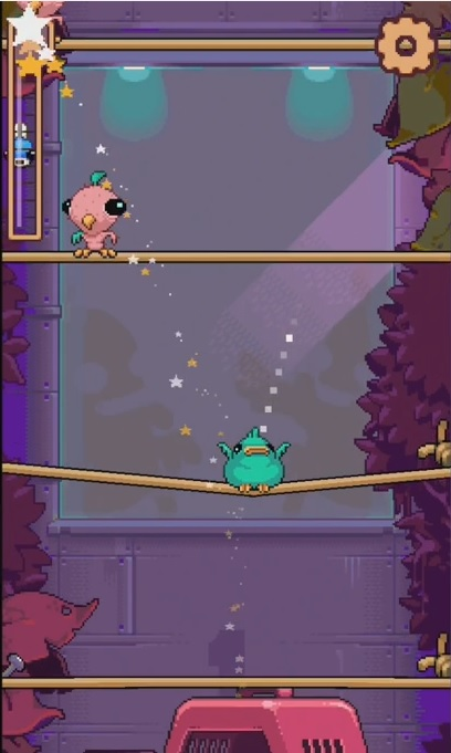Nitrome's barmy bird-flinging platformer Cooped Up is out on iOS tomorrow