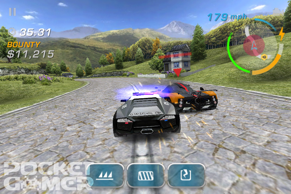 Need For Speed: Hot Pursuit roars onto the Android Market