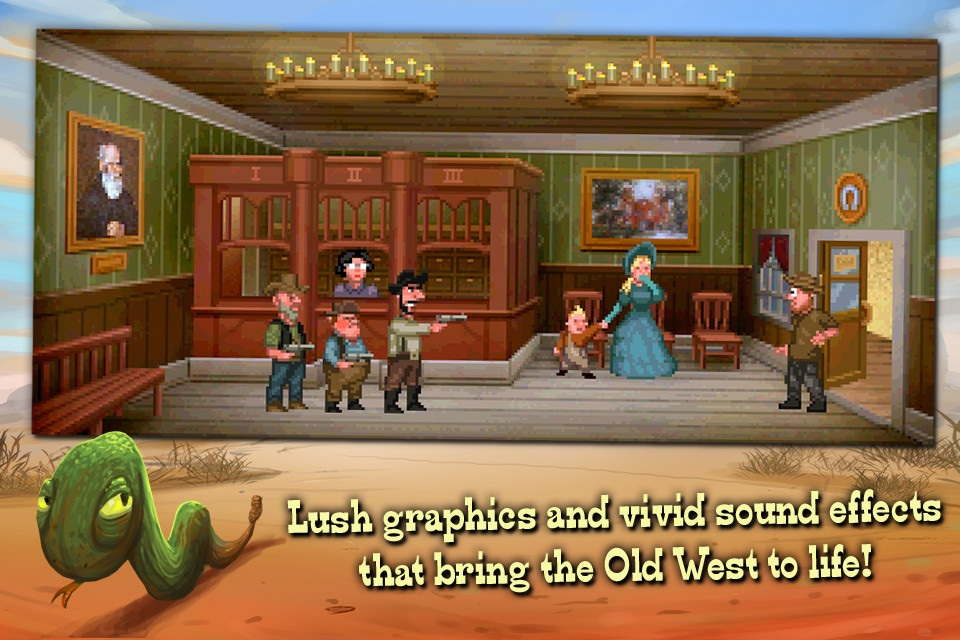 Retro-style point-and-click Fester Mudd is the closest you're gonna get to a new Sierra adventure