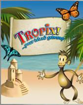 Enjoy a day at the beach on your mobile with Tropix