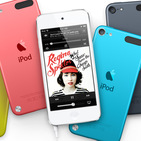Apple's fifth-generation iPod touch is 'significantly' less powerful than the iPhone 5