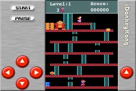 Donkey Kong iPhone clone hits the App Store