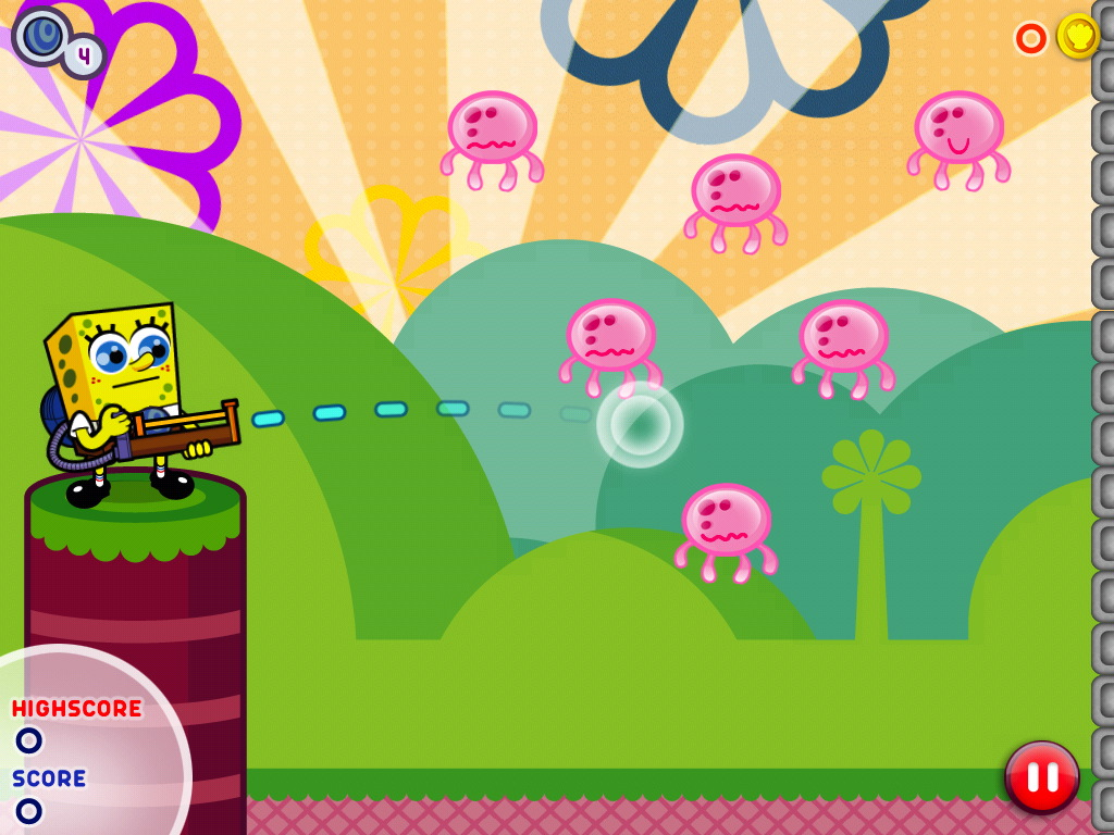 Physics-puzzler SpongeBob's Super Bouncy Fun Time bouncing onto the iPhone tomorrow