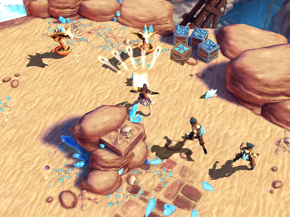 Action RPG Dungeon Hunter 4 gets a new expansion: Descending Depths