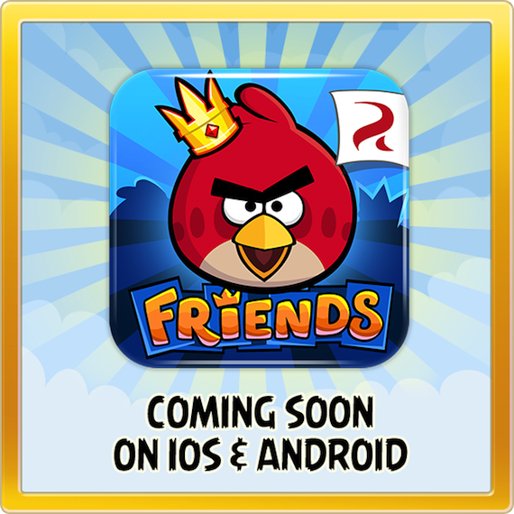 Another avian adventure? Affirmative! Angry Birds Friends comes to iOS and Android on Thursday
