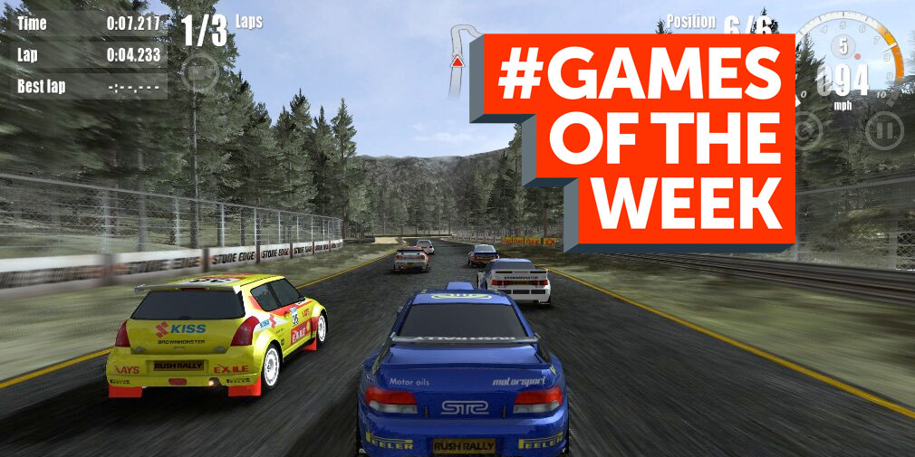GAMES OF THE WEEK - The 5 best new games for iOS and Android - March 28th