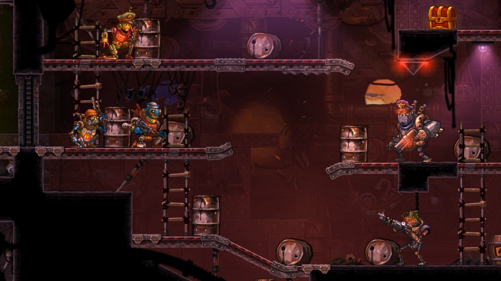 Tactical shooter sequel SteamWorld Heist comes out for 3DS on December 10th