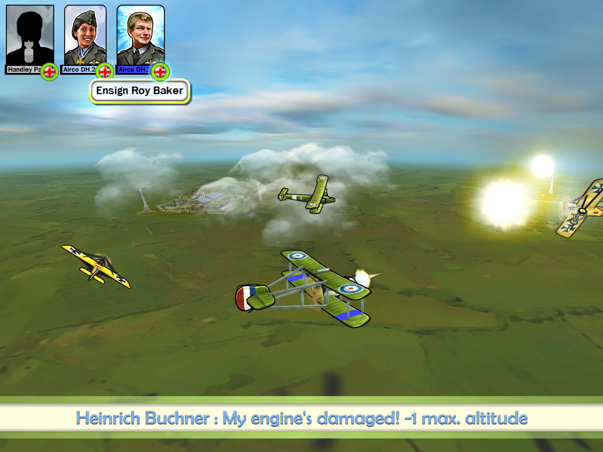 Sid Meier's Ace Patrol swoops onto the App Store in a hail of machine gun fire