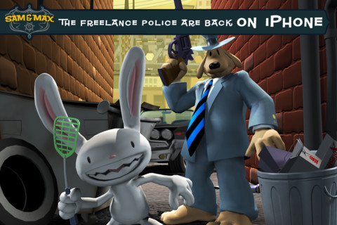Telltale's cartoon puzzler Sam & Max Beyond Time and Space Ep 1 going free on App Store