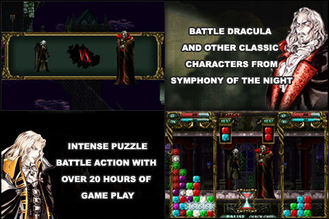 Castlevania Puzzle: Encore of the Night whips onto iPhone