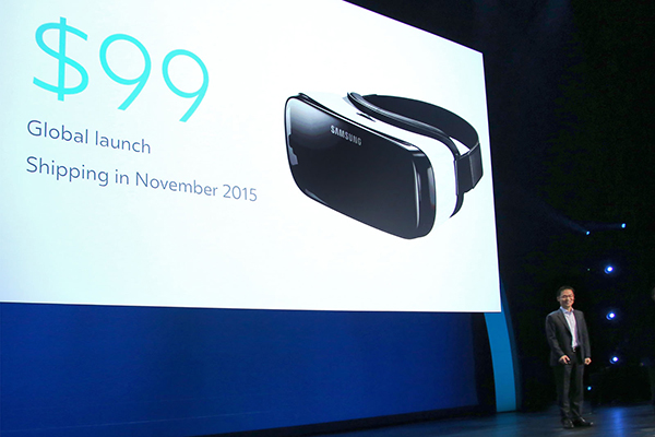 Oculus announces Gear VR headset is coming to the US this November for $99