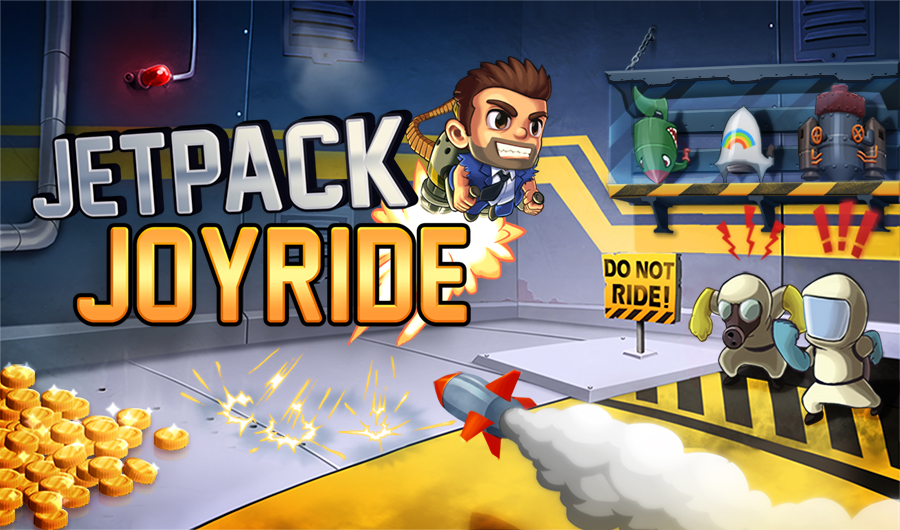 Halfbrick's iOS endless-flyer Jetpack Joyride soars onto Facebook